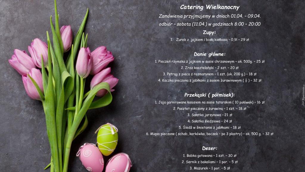 Wielkanocna oferta cateringowa